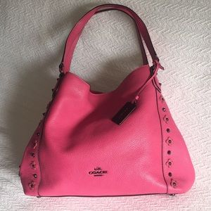 COACH Edie hobo bag